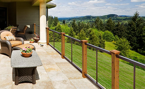 Dream Homes with Feeney Deck Railing