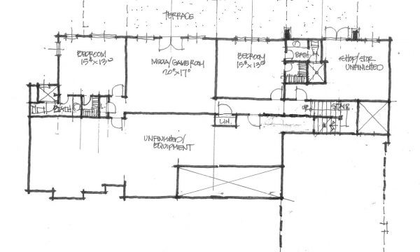 Conceptual design 1403 walkout basement design for Donald gardner house plans with walkout basement