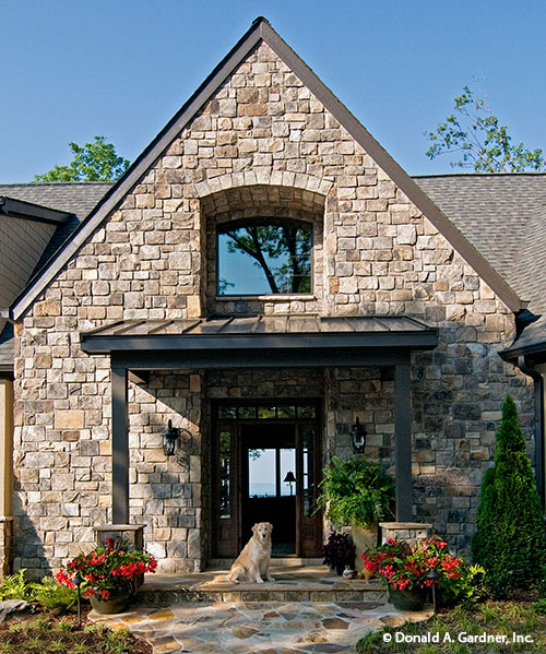 Portico Entry - The Rockledge #875-D