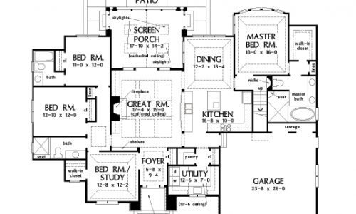 Cottage home plan 1431 now available houseplansblog for Whimsical cottage house plans