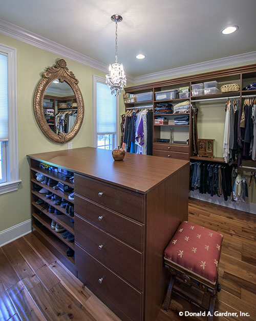 Design Ideas - Master closet from The Kenningstone #1166