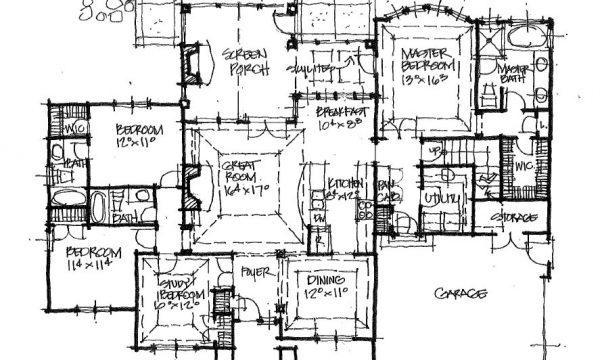 Conceptual home design 1435 classic cottage for Classic cottage house plans