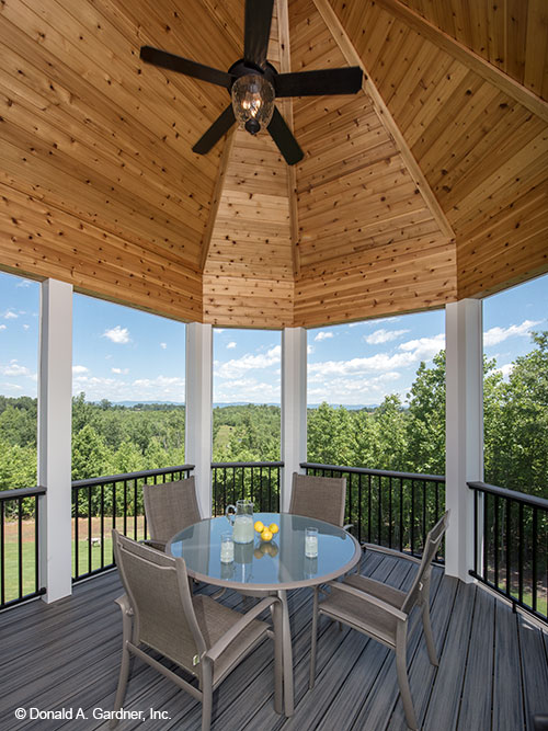 Home Plans - Screened porch of The Butler Ridge #1320-D