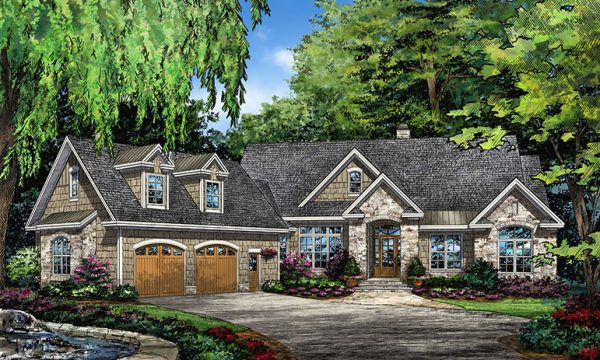 Home plan 1345 now available houseplansblog for Craftsman style homes in okc