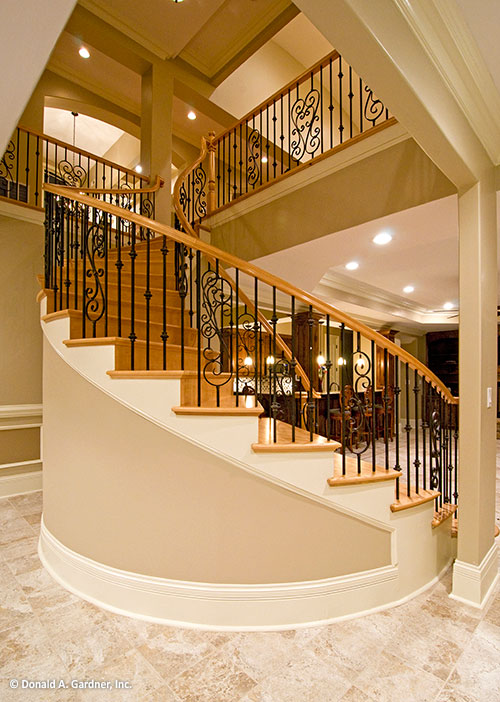 Home Design - staircase of The Heatherstone #5016