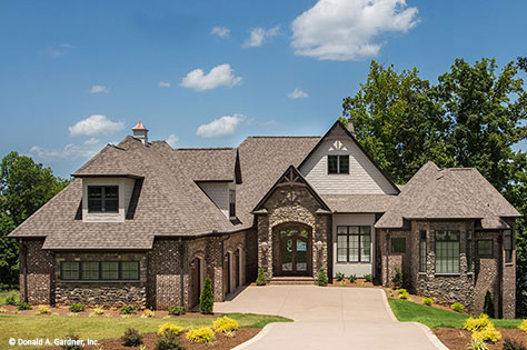 House Plan 5040 - Front Exterior