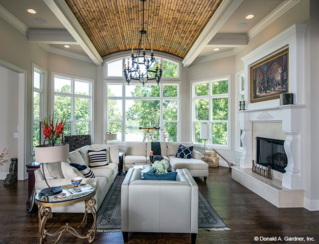 House Plan 5040 - Great Room