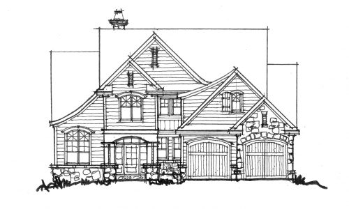 House plan 1441 now available houseplansblog for Narrow luxury house plans