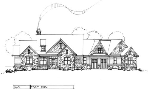 Conceptual house plan 1463 sprawling ranch for Sprawling ranch home plans