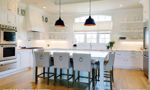 green in kitchen caliber homes amp remodeling voted favorite builder 1378