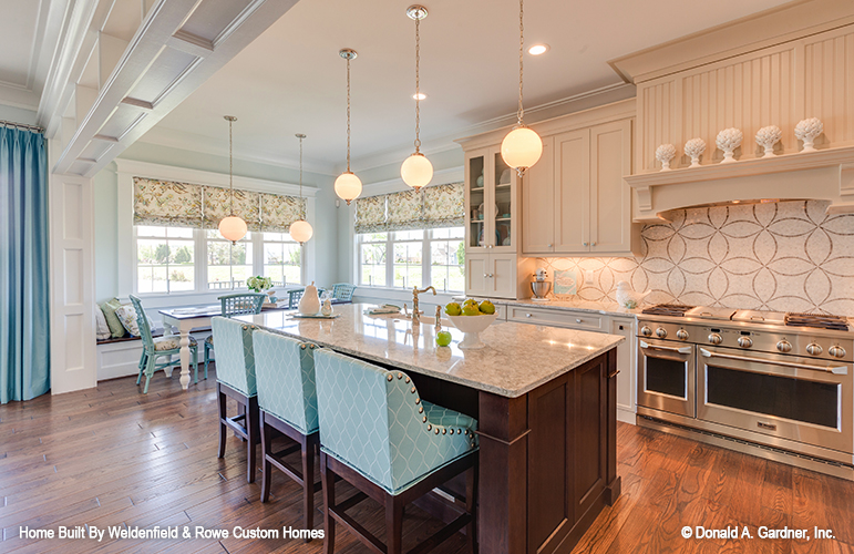 Accessorized kitchens are one of the top kitchen trends.