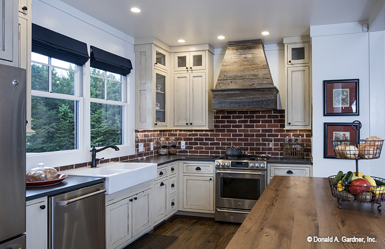 Statement hoods are one of the top kitchen trends.