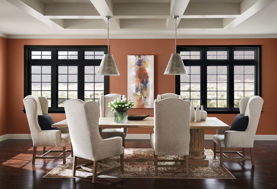 The 2019 Color of the Year from Sherwin-Williams is Cavern Clay.
