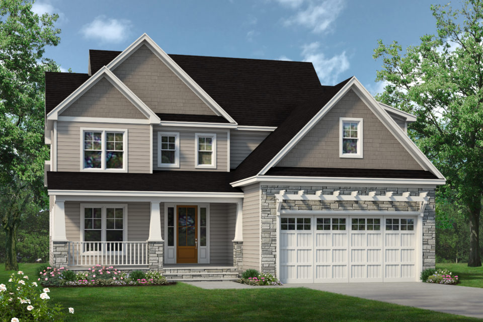 Front rendering of The Paxton Plan 1510.