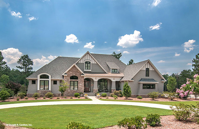 The Birchwood is one of the most popular house plans from Don Gardner Architects.