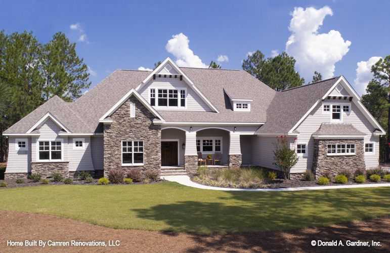 The Markham is one of the most popular house plans from Don Gardner Architects.