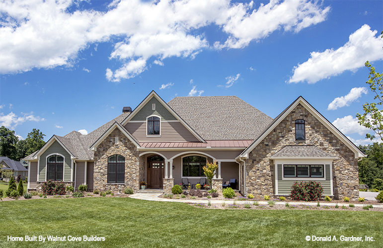 The Chesnee is one of the most popular house plans from Don Gardner Architects.