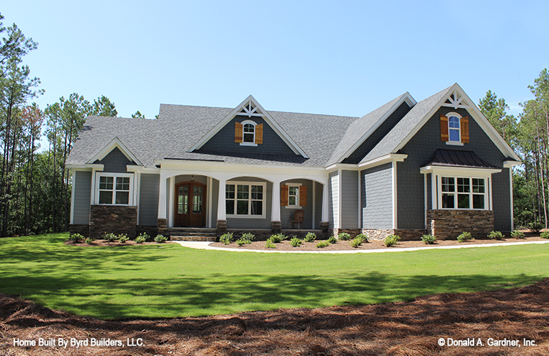 The Lucy is one of the most popular house plans from Don Gardner Architects.