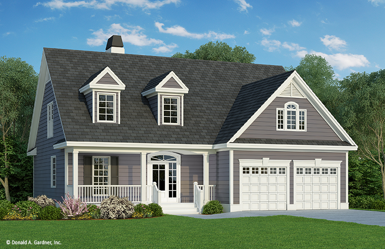The Courtney is one of the most popular house plans from Don Gardner Architects.