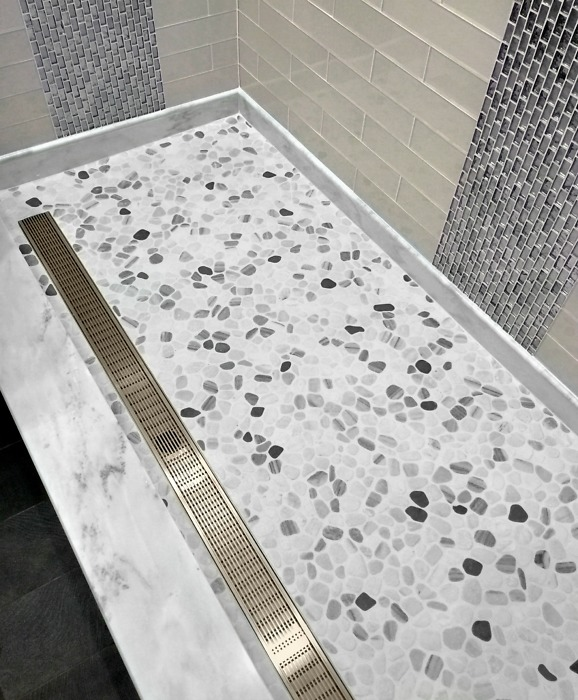 Bathroom Trends - Linear drains