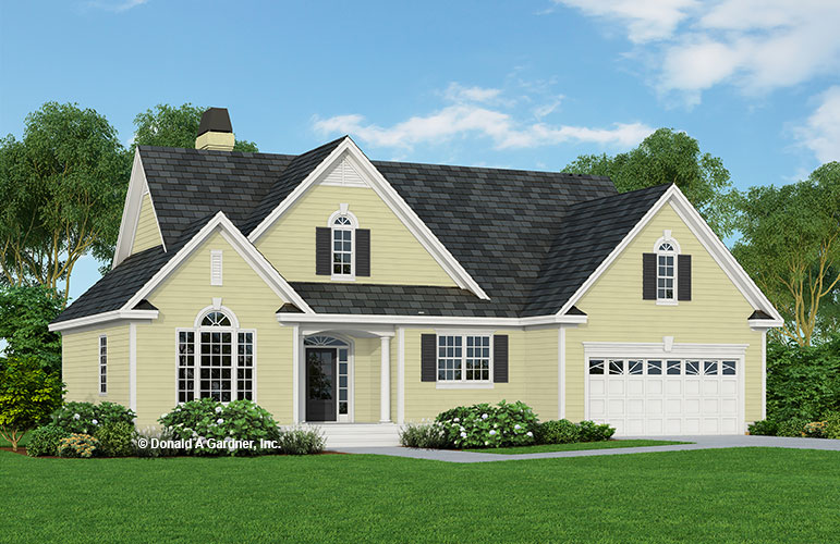 Front rendering of The Lyman plan 1292.