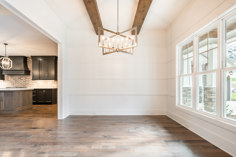 Dining room of The St. Jude 2020 dream home, The Oliver.