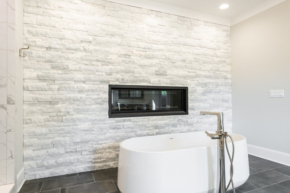 Master bathroom of The St. Jude 2020 dream home, The Oliver.