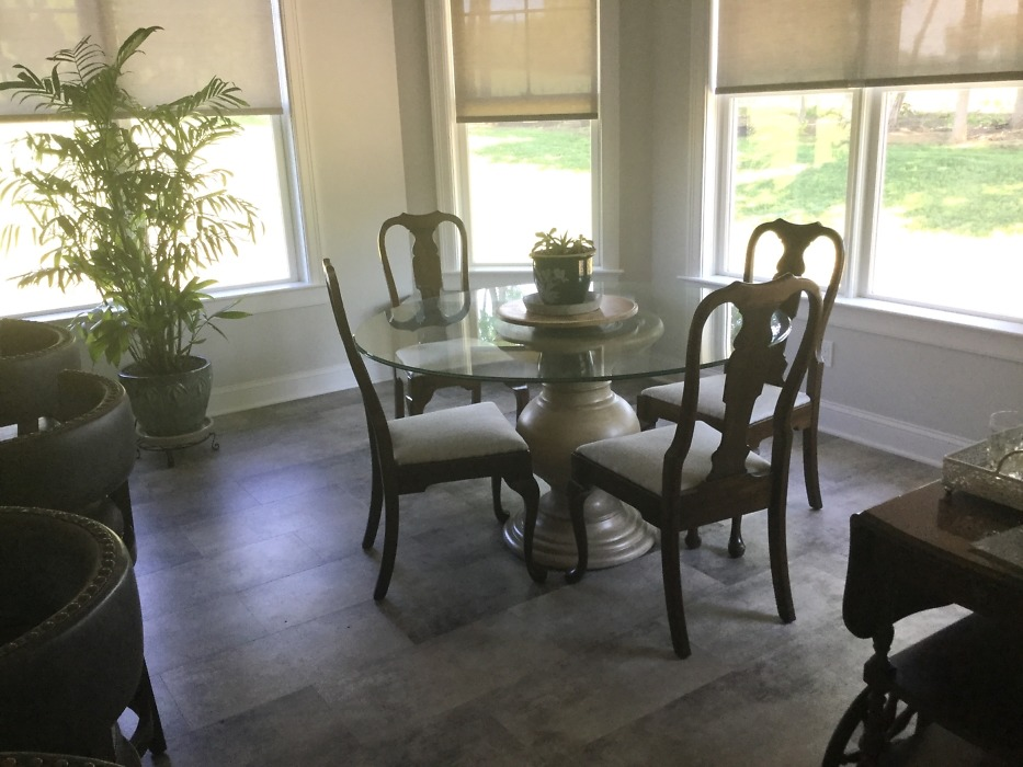 Dining room of The Buckley plan 1345.
