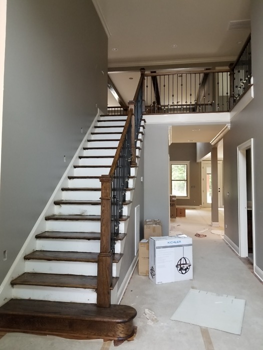 Stairs of The Braxton plan 1343.