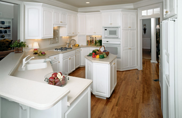 Kitchen of The Milford house plan 331.