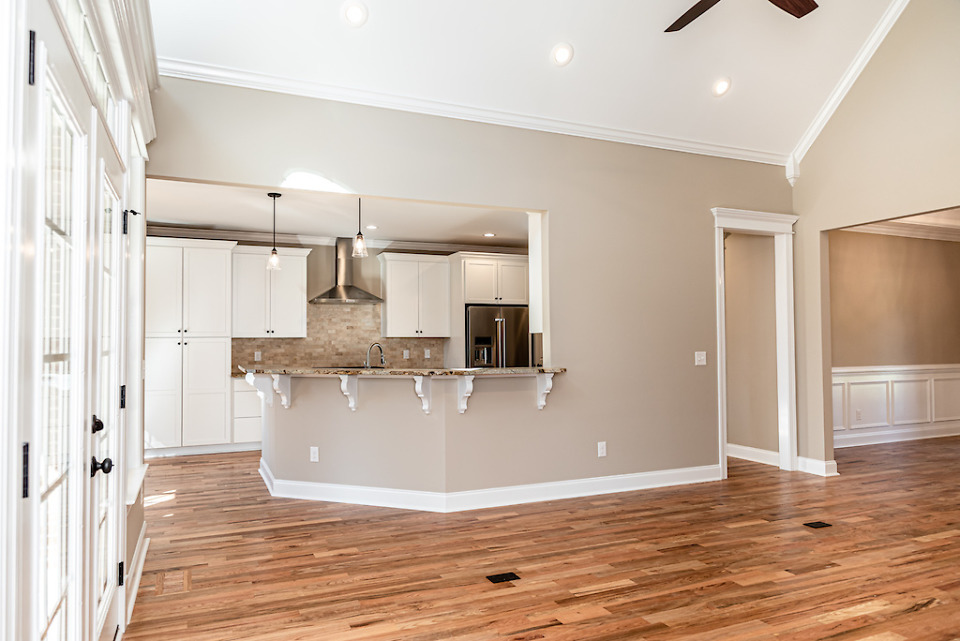 The Weatherford house plan 1053 is move-in ready.