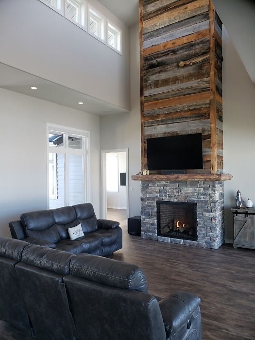 The Ridley house plan 1466 is move-in ready!