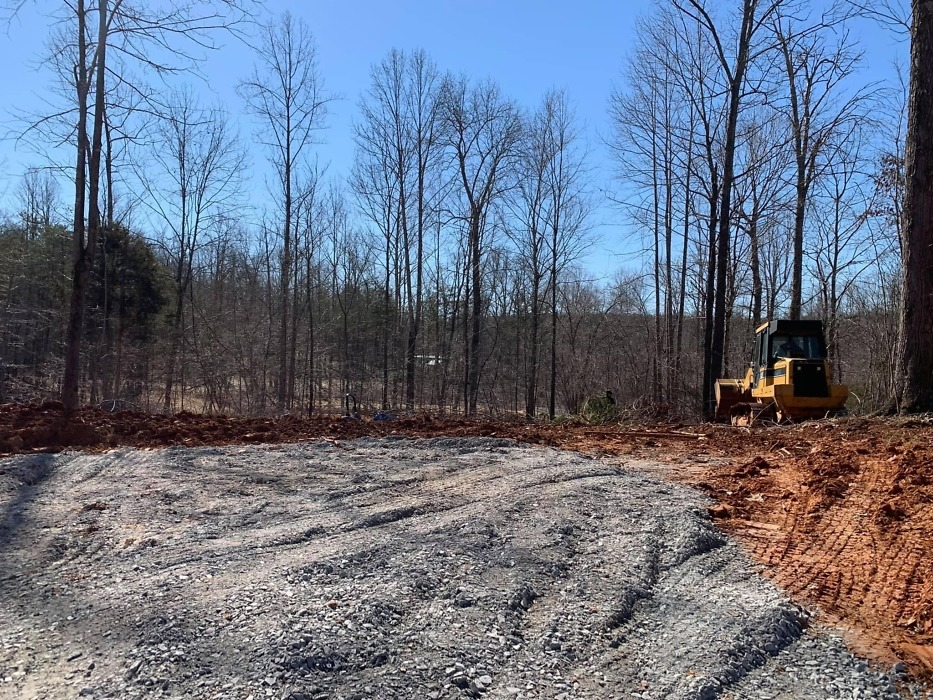 Site clearing of the 2021 St. Jude Dream Home Giveaway.