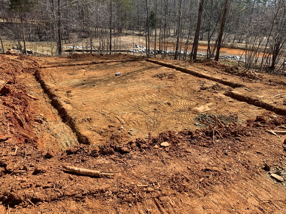Excavation of the 2021 St. Jude dream home giveaway.