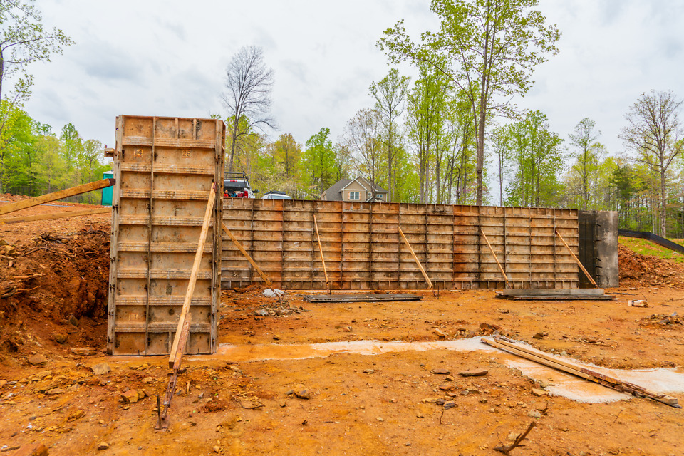 Foundation of The Ivy Creek house plan 921.