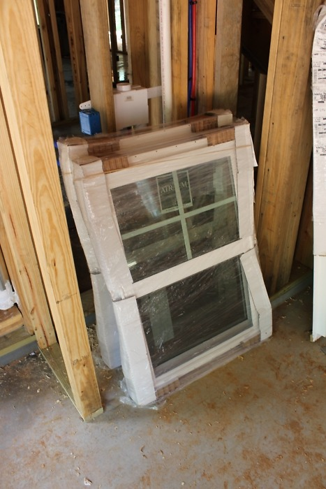 Windows and doors of The Lucy plan 1415.