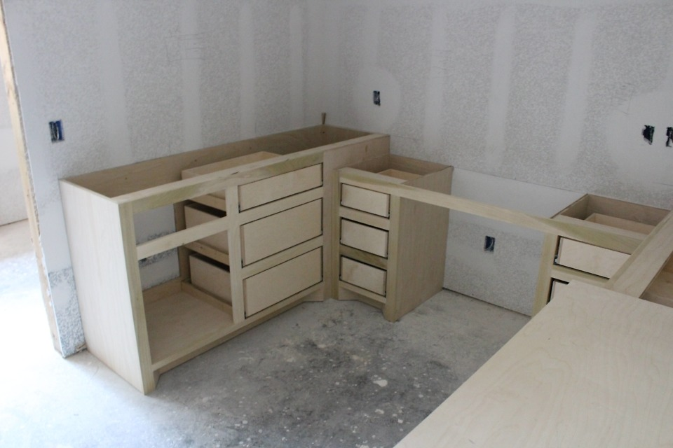 Interior finishes of The Lucy plan 1415.
