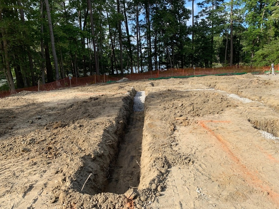 Digging footers of The Sundance plan 219.