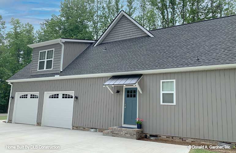 The Sloan house plan 1528 is move-in ready.